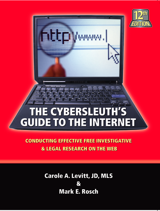 The Cybersleuth's Guide to the Internet