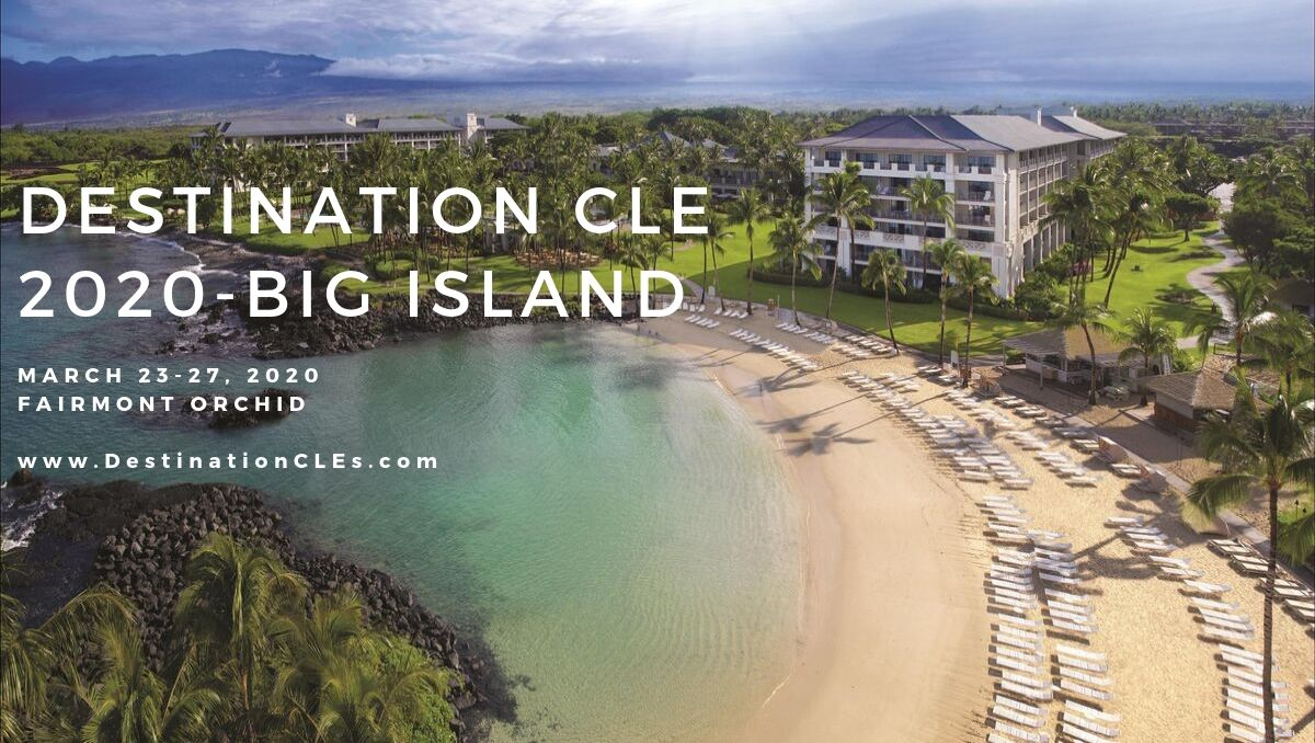 Earn CLE credit while you're on vacation.