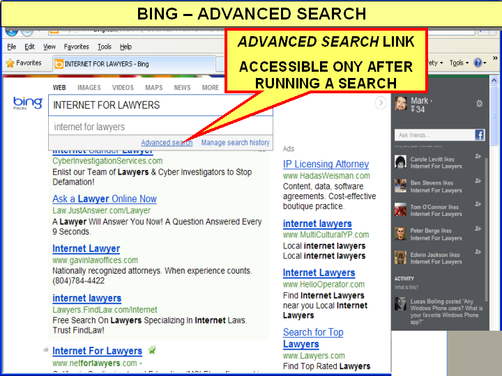 Bing Revamps Results: More Social...Less Search