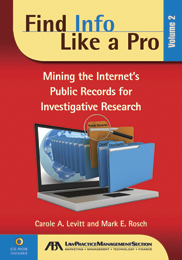 Find Info Like a Pro, Volume 2 | American Bar Association