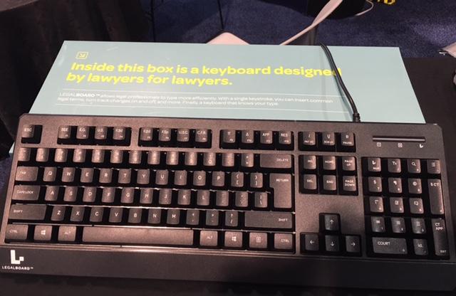 LegalBoard Keyboard for lawyers