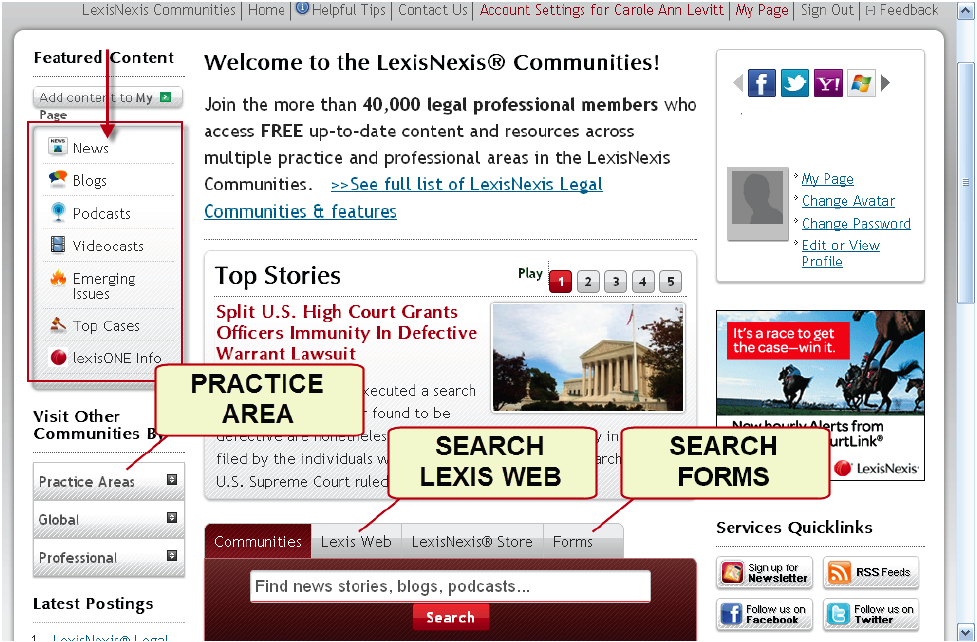 LexisNexis Discontinues Free LexisOne Case Law Database