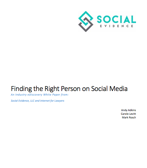 Social Media Investigative Research White Paper