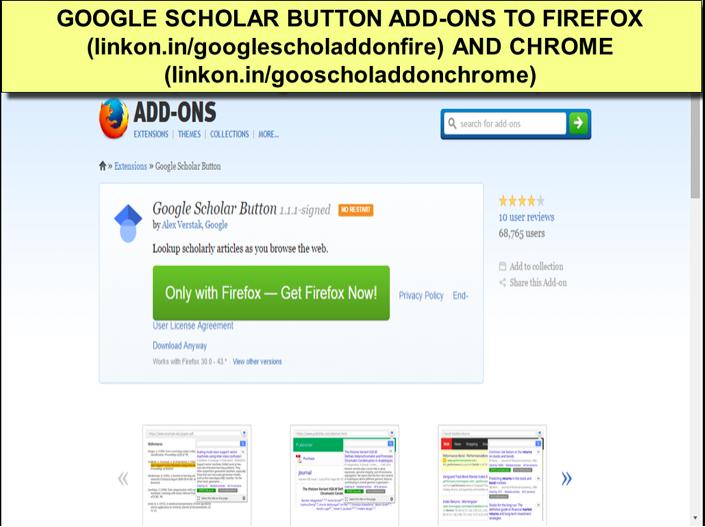 Google Scholar Button