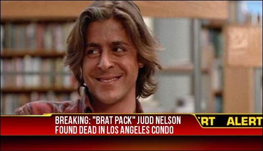 Judd Nelson is not dead